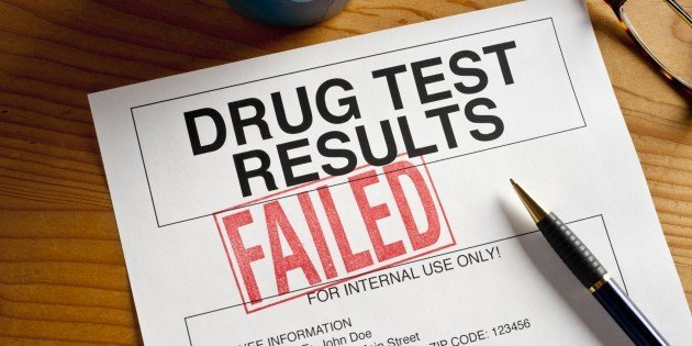 Weed Drug Test Failed